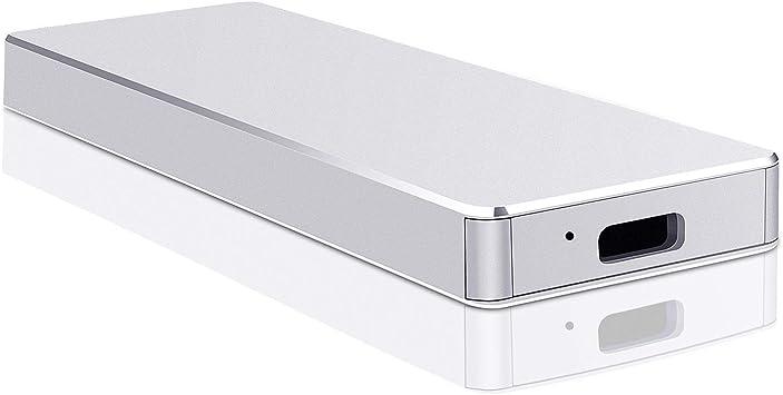 Disco Duro Externo 2tb USB 3.1 para Mac, PC,MacBook, Chromebook, Xbox (2tb, Plata): Amazon.es: Electrónica
