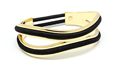 Maria Shireen Bittersweet Hair Tie Bracelet by Infinity Design Gold with  Gift Box - Holds 2 6d0c4a59c85