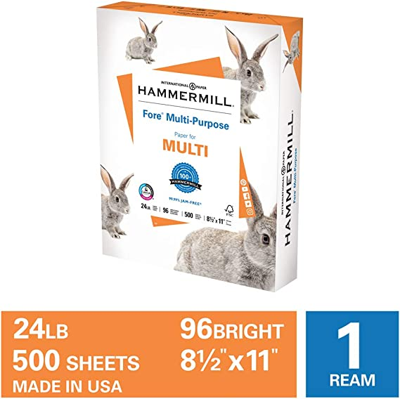 Hammermill Fore Multi-Purpose 24lb Copy Paper
