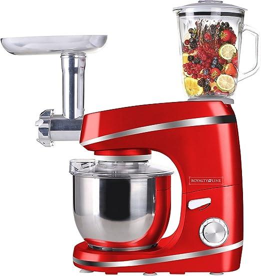 Classic Line Robot de cocina y Licuadora y batidora amasadora rojo ...