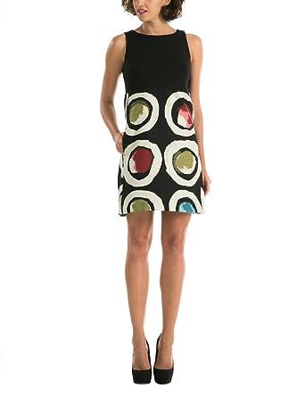 f3d7f10595 Desigual Vest_PETTIT Caprice, Robe Femme, Noir (Negro), FR (Taille Fabricant