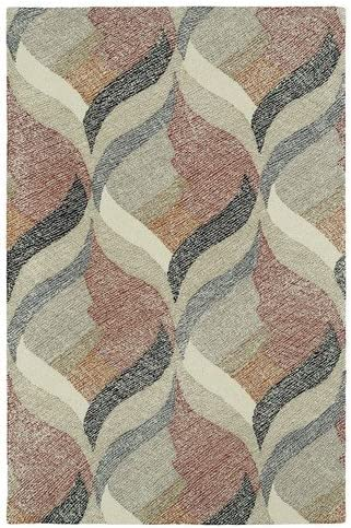 Kaleen Rugs Montage Collection MTG06-01 Ivory Hand Tufted 9 x 12 Rug