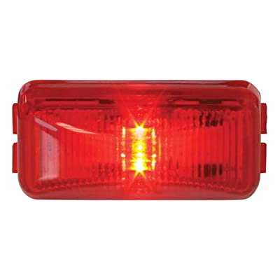 Grand General 76412 Fleet Series Red Small Rectangular LED Sealed Marker/Clearance Light: Automotive