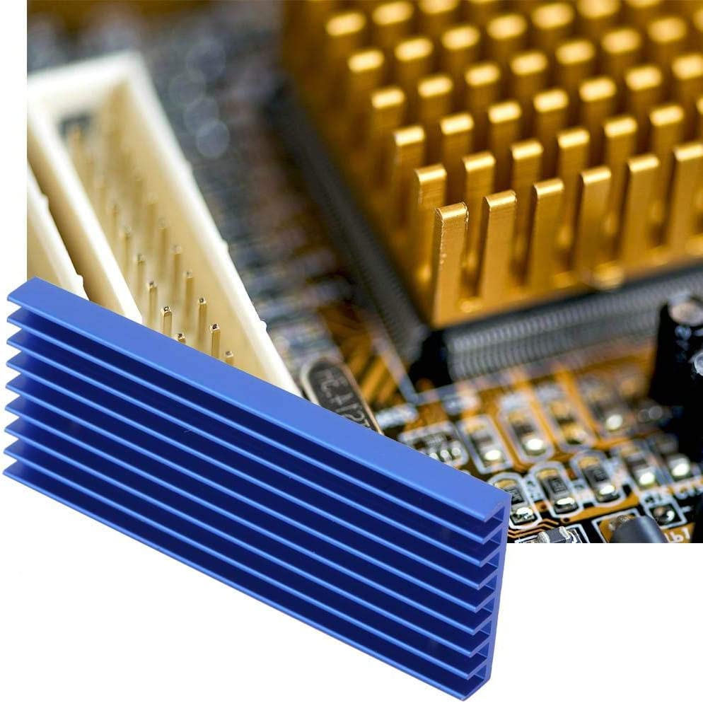 Bridge Chips Router Ic Radiator Suitable for PCB Q28 6 71.5 Three Holes Power Amplifier Board CPU Heatsink Aluminum Heat Sink