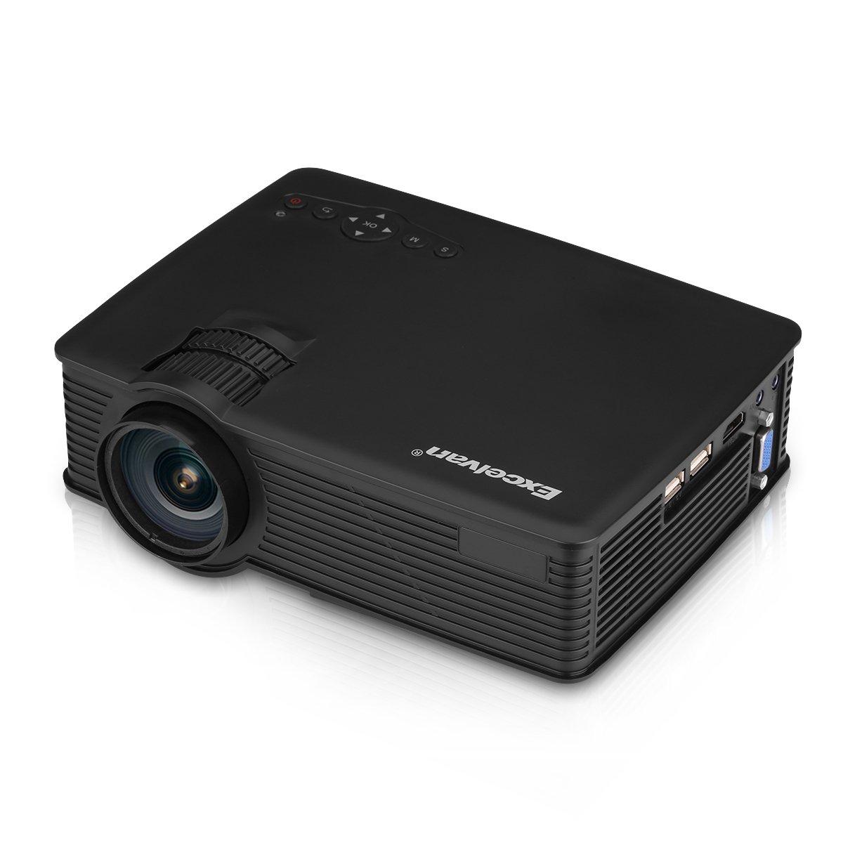 Excelvan EHD09 - Mini Proyector portátil LED 1200 Lúmenes ...