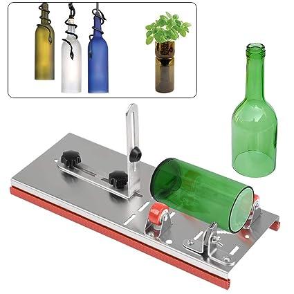 Tagliare Bottiglie Di Vetro.Ofnmy Taglia Bottiglie Di Vetro Glass Bottle Cutter Per