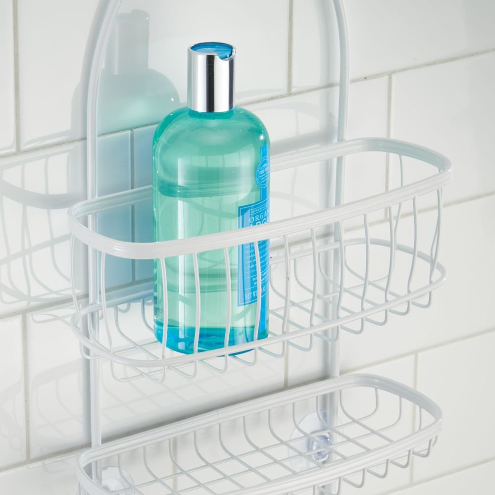 Amazon.com: InterDesign York Hanging Shower Caddy – Bathroom Storage ...