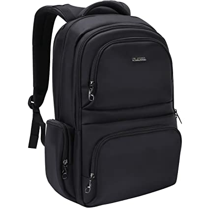 7936a0ae0f60 Polaris Laptop Backpack Fits 15.6 inch Computer Notebook Travel Rucksack  Daypack Men Women School Business Gaming