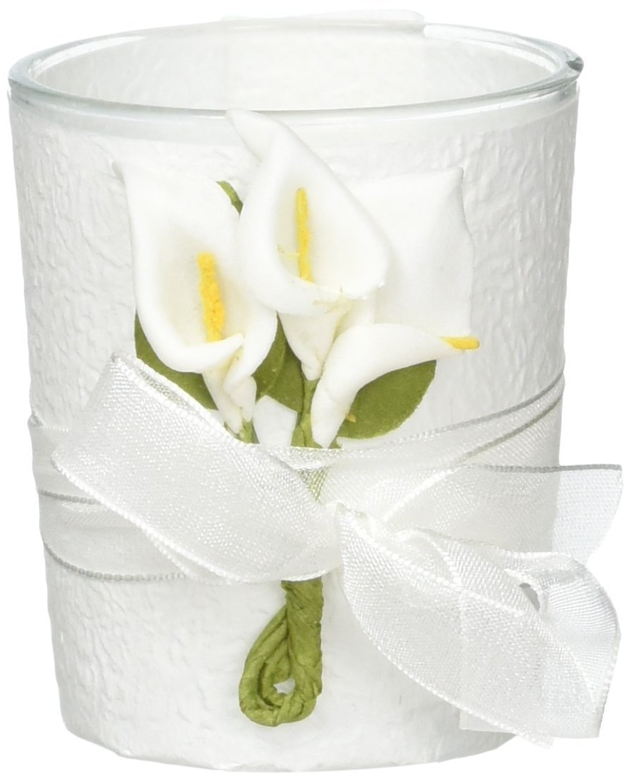 Stunning Calla Lily Design Candle Favors