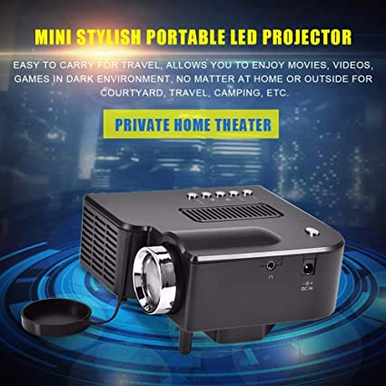 1080P HD Mini proyector de cine en casa LED 4: 3/16: 9 ...