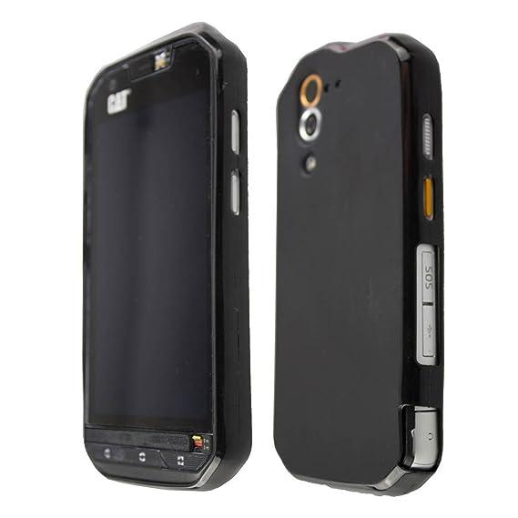 best sneakers 27da1 17527 caseroxx Smartphone Case CAT S60 TPU-Case - Shock Absorption, Bumper Case  in black