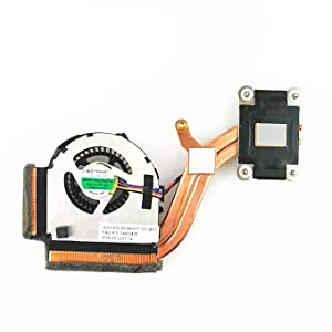 QUETTERLEE New Replacement For Lenovo Thinkpad X220 X220i X220s X220T X230 X230i X230T Series Laptop 4 Wire CPU Fan + Heatsink 04W0435 04W6921 O4W1774 60.4KH17.001 B01 KSB0405HA-AF87 FAN