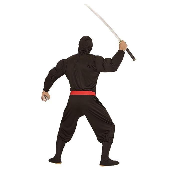 WIDMANN 00524 ? Adultos Disfraz muskulöser Ninja ...