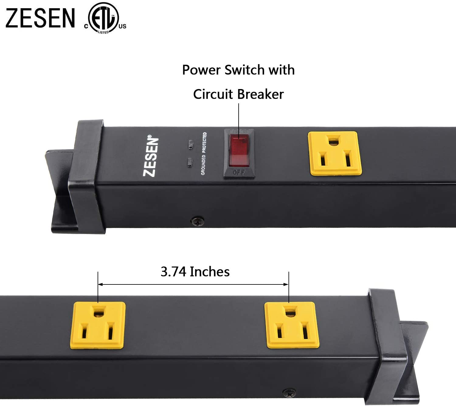 Amazon Coupon Code for 12 Outlet Heavy Duty Power Strip Surge Protector