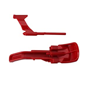 First4Spares Vacuum Cleaner Cyclone Assembly Red Canister Button Release Catch Clips for Dyson DC41, DC43
