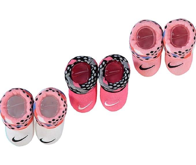 Nike - Calcetines - para bebé niña Rosa blanco 0-6 Meses: Amazon.es: Ropa y accesorios