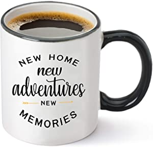 Housewarming Gifts For New Home – Unique First Time House Owner Gift Ideas for Men and Women – House Warming Decoration Gifts for Him, Her, Couple – 11 oz Coffee Mug Tea Cup White