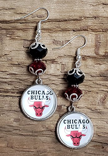 Elegant BULLS Inspired Earrings