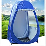 MOYUN Outdoor Single Pop-up Tent Pod For Fishing Watching Sports Camping Blue Clear