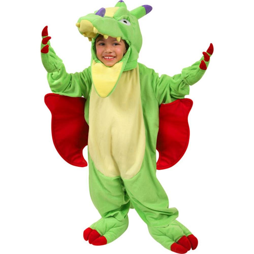 amazoncom toddler plush dragon costume size 2t 4t toys games - Dragon Toddler Halloween Costume