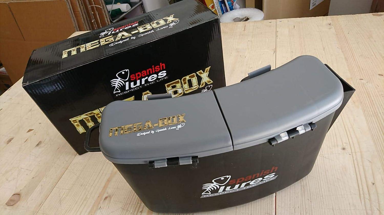 Spanish Lures Mega Box - Riñonera rígida para Spinning: Amazon.es ...