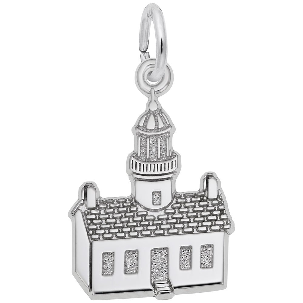 Charms for Bracelets and Necklaces Pt Loma,Ca Lighthouse Charm