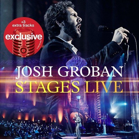 Josh Groban Stages Live (CD/DVD) with 3 Bonus Tracks {Deluxe Limited Edition}