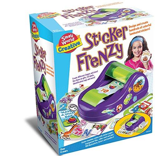 Small World Toys Creative - Sticker Frenzy Art Kit