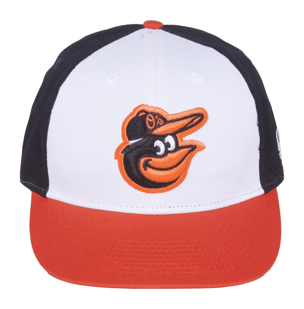 Amazon.com   MLB Cooperstown ADULT Baltimore ORIOLES Wht Orng Blk Hat Cap  Adjustable Velcro TWILL Throwback   Sports Fan Baseball Caps   Sports    Outdoors 29d64540acd7