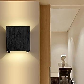 AGPtek moderne 3W LED Wandleuchte innen Wandlampe Flurlampe ...