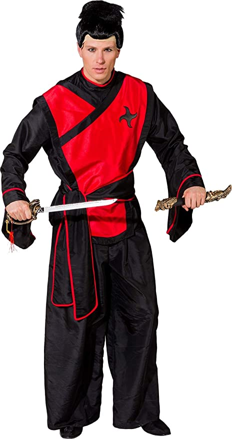 Fancy Me Disfraz de Guerrero samurái japonés para Hombre: Amazon ...