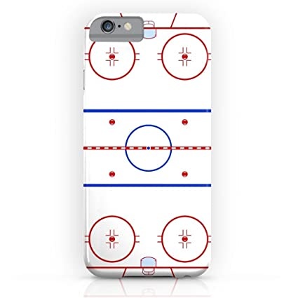 Amazon Society6 Ice Hockey Rink Diagram Slim Case Iphone 7