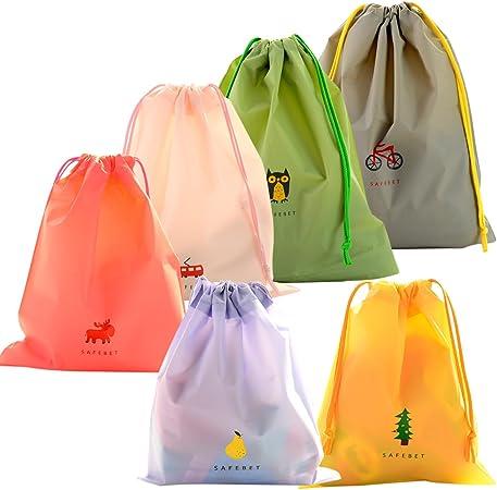 Camping Storage Bag Drawstring Sack Pouch Travel Organizer Pack Packing