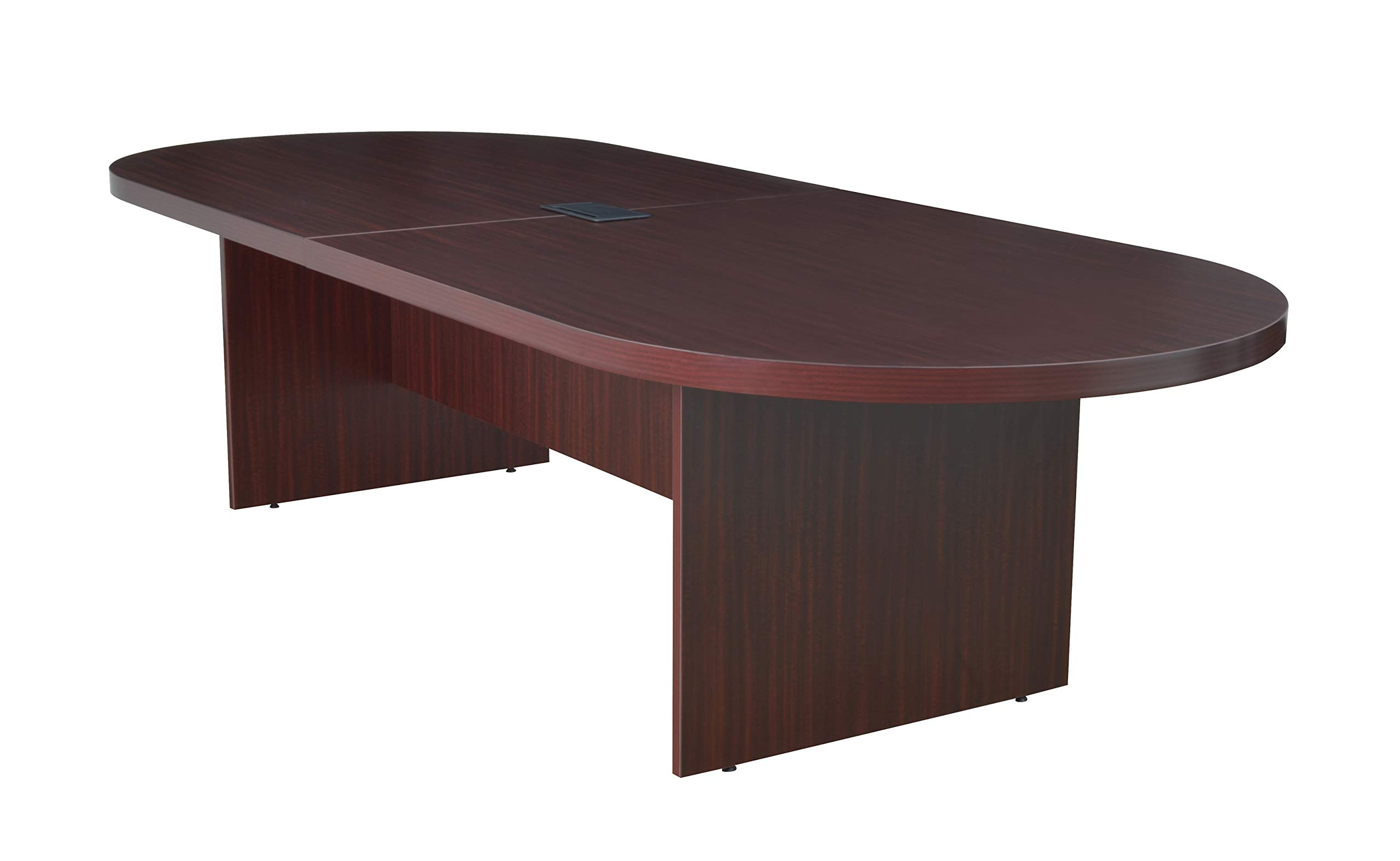 Regency Legacy 120-inch Racetrack Conference Table with Power Data Grommet- Mahogany by Regency