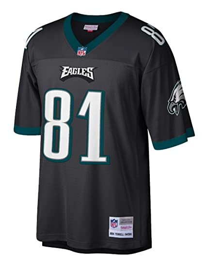 828d85b9 Terrell Owens Philadelphia Eagles NFL Mitchell & Ness Throwback Premier  Jersey (Small)
