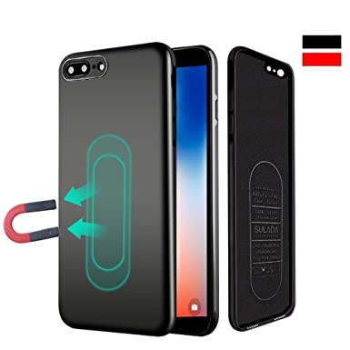 finest selection 0f59c e7270 iPhone 6/6s Case,Ultra Thin Magnetic Phone Case for Magnet Car Phone Holder  with Invisible Built-in Metal Plate,Soft TPU Shockproof Anti-Scratch ...