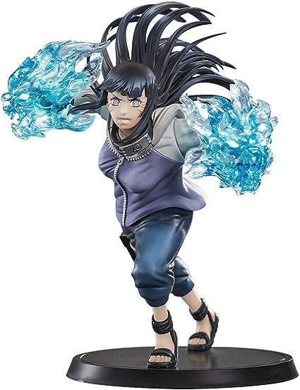 2 PVC Figure Statue Toy No Box Anime Naruto Shippuuden Gals Hyūga Hinata Ver