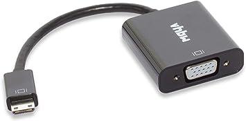 vhbw Adaptador de Mini HDMI a VGA para Monitor, TV, PC, Ordenador, portátil, Pantalla, televisor.: Amazon.es: Electrónica