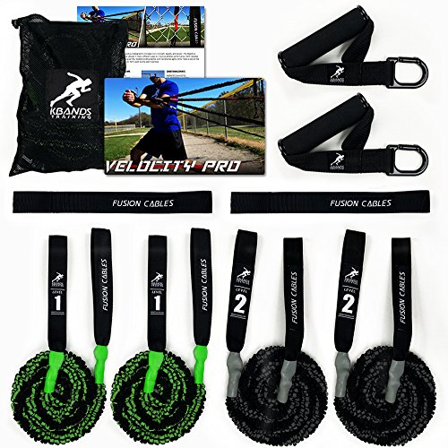 Kbands Fusion Cables Velocity Trainer (Baseball - Softball Arm Bands) (Beginner 13 Years or Younger)