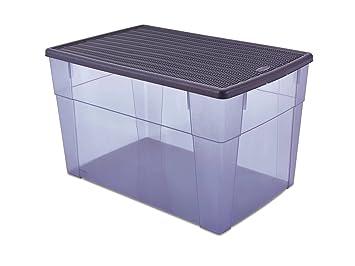Kreher Xxl Aufbewahrungsbox Elegance Mit Nutzvolumen Ca 62 Liter