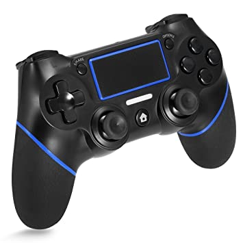 Amazon.com: Controlador PS4, inalámbrico Bluetooth Gamepad ...