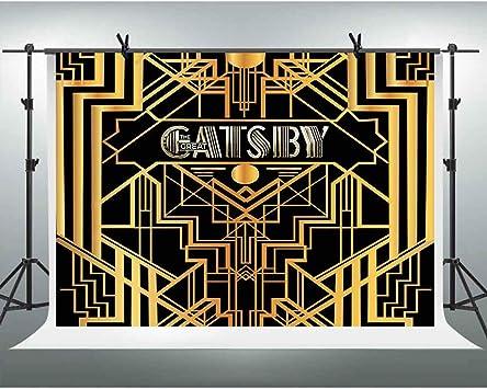 Amazon.com: El gran fondo temático de Gatsby: Beauty