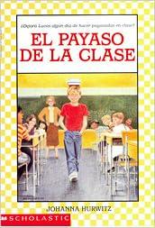 El Payaso De La Clase: Johanna Hurwitz: 9780590480734: Amazon.com