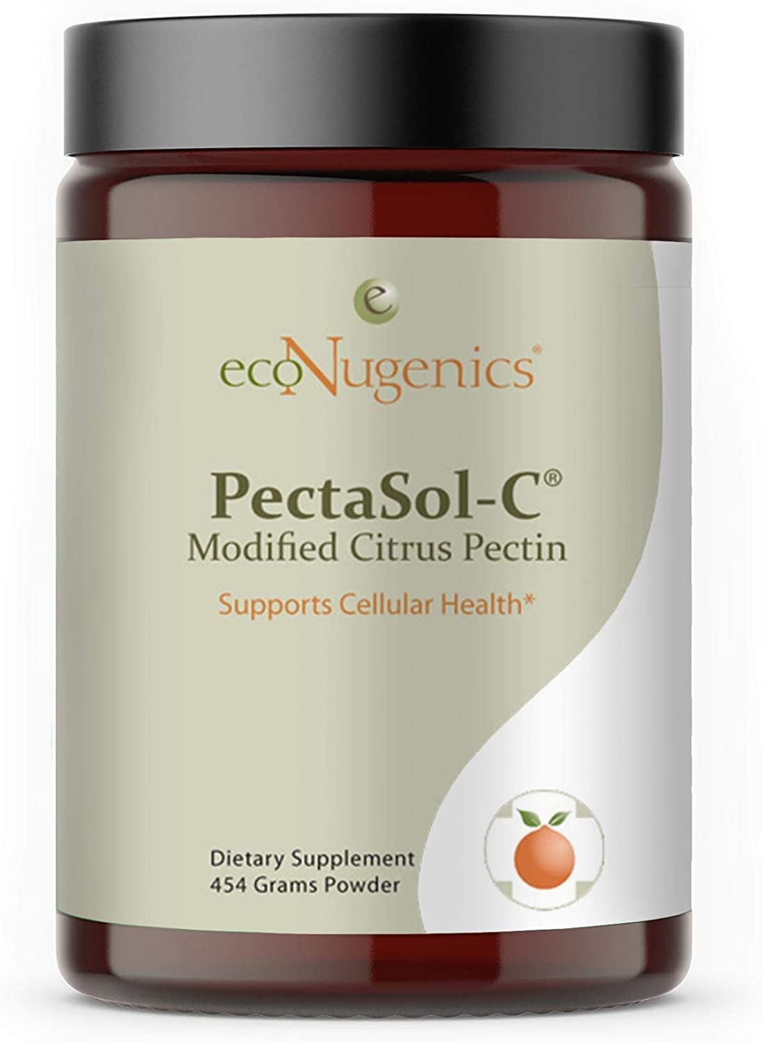 EcoNugenics – PectaSol-C Modified Citrus Pectin - 454 Grams | Professionally Formulated to Help Maintain Healthy Galectin-3 Levels | Supports Cellular & Immune System Health | Safe & Natural