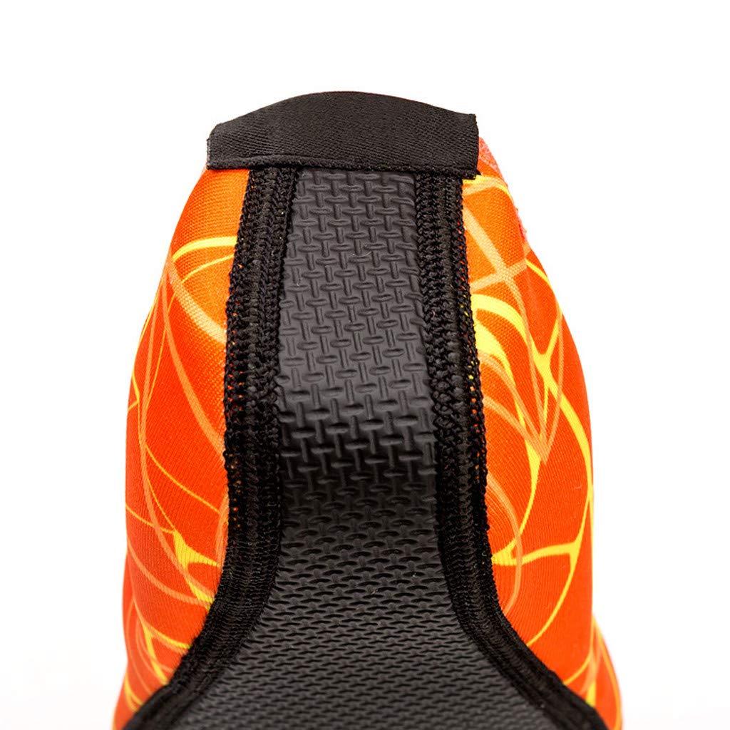 KUDICO Chaussures Aquatiques Homme Femme Chaussures de Plage Yoga Chaussures de Bain Peau Aquatique Chaussures-pour Sport Aquatiques de Plage Et deau Chaussures