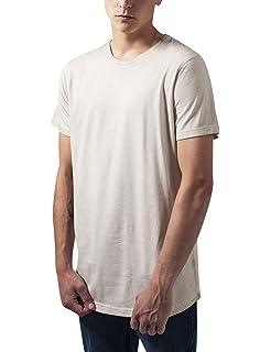 Urban Classics Shaped Long Cold Dye tee, Camiseta para Hombre