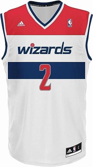 98449a9ac Colour  adidas Performance WASHINGTON WIZARDS JOHN WALL INT REPLICA JSY White  Men Basketball Jersey