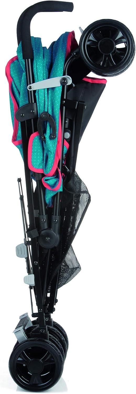 Respaldo Reclinable 4 Posiciones Be Cool Chic Silla Ligera Plegado Tipo Paraguas Uso desde los 6 Meses Color Wave