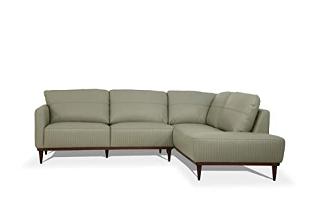 Amazon.com: ACME Furniture 54975 Tampa Sectional Sofa, Airy ...