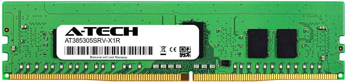 Server Memory Ram 2 x 8GB A-Tech 16GB Kit DDR4 PC4-21300 2666Mhz ECC Registered RDIMM 1rx8 for GIGABYTE R281-3C1 AT385305SRV-X2R1